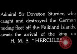 Image of King George V Orkney Islands Scotland, 1917, second 4 stock footage video 65675049921