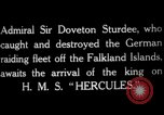 Image of King George V Orkney Islands Scotland, 1917, second 5 stock footage video 65675049921