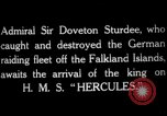 Image of King George V Orkney Islands Scotland, 1917, second 6 stock footage video 65675049921