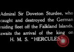 Image of King George V Orkney Islands Scotland, 1917, second 7 stock footage video 65675049921