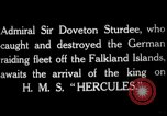 Image of King George V Orkney Islands Scotland, 1917, second 9 stock footage video 65675049921