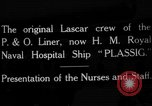 Image of British hospital ship Plassy Orkney Islands, 1917, second 1 stock footage video 65675049922