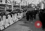 Image of British hospital ship Plassy Orkney Islands, 1917, second 9 stock footage video 65675049922