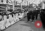 Image of British hospital ship Plassy Orkney Islands, 1917, second 10 stock footage video 65675049922
