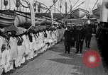 Image of British hospital ship Plassy Orkney Islands, 1917, second 11 stock footage video 65675049922