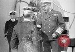 Image of Vice Admiral William Pakenham knighted by King George V Orkney Islands Scotland, 1917, second 7 stock footage video 65675049924