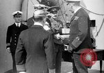 Image of Vice Admiral William Pakenham knighted by King George V Orkney Islands Scotland, 1917, second 8 stock footage video 65675049924