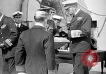 Image of Vice Admiral William Pakenham knighted by King George V Orkney Islands Scotland, 1917, second 10 stock footage video 65675049924