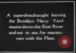 Image of USS Tennessee Brooklyn New York City USA, 1920, second 11 stock footage video 65675049928
