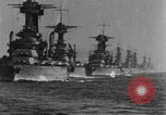 Image of American battleship-fleet Atlantic Ocean, 1920, second 3 stock footage video 65675049936