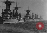 Image of American battleship-fleet Atlantic Ocean, 1920, second 4 stock footage video 65675049936