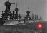 Image of American battleship-fleet Atlantic Ocean, 1920, second 5 stock footage video 65675049936