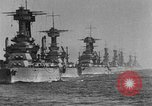 Image of American battleship-fleet Atlantic Ocean, 1920, second 6 stock footage video 65675049936