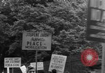 Image of picketing Washington DC USA, 1950, second 8 stock footage video 65675049971