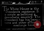 Image of White House Washington DC USA, 1921, second 3 stock footage video 65675049987