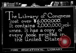 Image of American Library of Congress Washington DC USA, 1921, second 2 stock footage video 65675049988