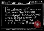Image of American Library of Congress Washington DC USA, 1921, second 3 stock footage video 65675049988