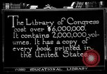 Image of American Library of Congress Washington DC USA, 1921, second 4 stock footage video 65675049988