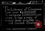 Image of American Library of Congress Washington DC USA, 1921, second 5 stock footage video 65675049988