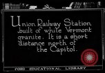 Image of Union Railway Station Washington DC USA, 1921, second 3 stock footage video 65675049990