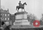 Image of statues of noble men Washington DC USA, 1921, second 6 stock footage video 65675049991