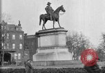 Image of statues of noble men Washington DC USA, 1921, second 7 stock footage video 65675049991