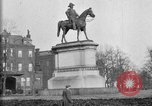 Image of statues of noble men Washington DC USA, 1921, second 8 stock footage video 65675049991