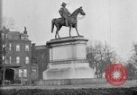 Image of statues of noble men Washington DC USA, 1921, second 9 stock footage video 65675049991