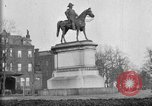 Image of statues of noble men Washington DC USA, 1921, second 10 stock footage video 65675049991