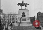Image of statues of noble men Washington DC USA, 1921, second 11 stock footage video 65675049991