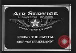 Image of Ostfriesland sinking Virginia United States USA, 1921, second 8 stock footage video 65675049995