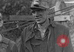 Image of mine workers Harlan Kentucky USA, 1921, second 7 stock footage video 65675050004