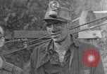 Image of mine workers Harlan Kentucky USA, 1921, second 8 stock footage video 65675050004