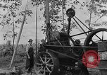 Image of well drilling farm machinery Kentucky United States USA, 1940, second 8 stock footage video 65675050012