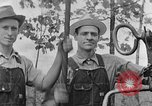 Image of well drilling farm machinery Kentucky United States USA, 1940, second 12 stock footage video 65675050012