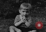 Image of small boy Kentucky United States USA, 1940, second 5 stock footage video 65675050014