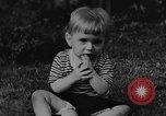 Image of small boy Kentucky United States USA, 1940, second 6 stock footage video 65675050014