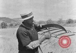 Image of scythe and cradle Kentucky United States USA, 1940, second 3 stock footage video 65675050015