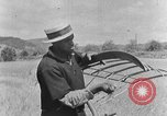 Image of scythe and cradle Kentucky United States USA, 1940, second 4 stock footage video 65675050015