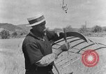 Image of scythe and cradle Kentucky United States USA, 1940, second 5 stock footage video 65675050015
