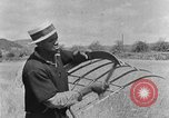 Image of scythe and cradle Kentucky United States USA, 1940, second 8 stock footage video 65675050015