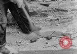 Image of breaking rocks Tennessee United States USA, 1940, second 10 stock footage video 65675050018