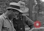 Image of lumber yard Kentucky United States USA, 1940, second 7 stock footage video 65675050023