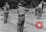 Image of hammering rock slabs Tennessee United States USA, 1940, second 3 stock footage video 65675050026