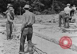Image of hammering rock slabs Tennessee United States USA, 1940, second 4 stock footage video 65675050026