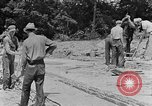 Image of hammering rock slabs Tennessee United States USA, 1940, second 6 stock footage video 65675050026