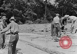 Image of hammering rock slabs Tennessee United States USA, 1940, second 7 stock footage video 65675050026