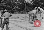 Image of hammering rock slabs Tennessee United States USA, 1940, second 8 stock footage video 65675050026