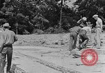 Image of hammering rock slabs Tennessee United States USA, 1940, second 9 stock footage video 65675050026