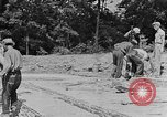 Image of hammering rock slabs Tennessee United States USA, 1940, second 10 stock footage video 65675050026